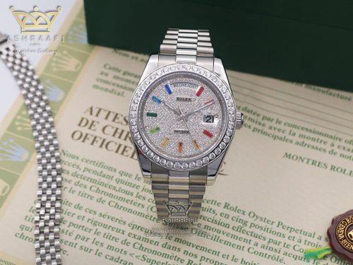 ساعت رولکس دی دیت اندکس رنگی