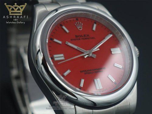 ساعت رولکس مردانه صفحه قرمز
