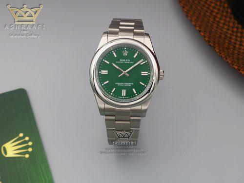 ساعت رولکس پرپچوال صفحه سبز
