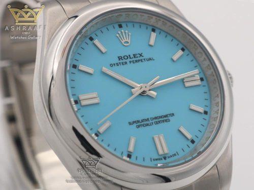 ساعت رولکس پرپچوال صفحه آبی
