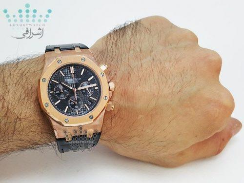 تصویر روی مچ ساعت ای پی مدل Audemars-Piguet-BK35