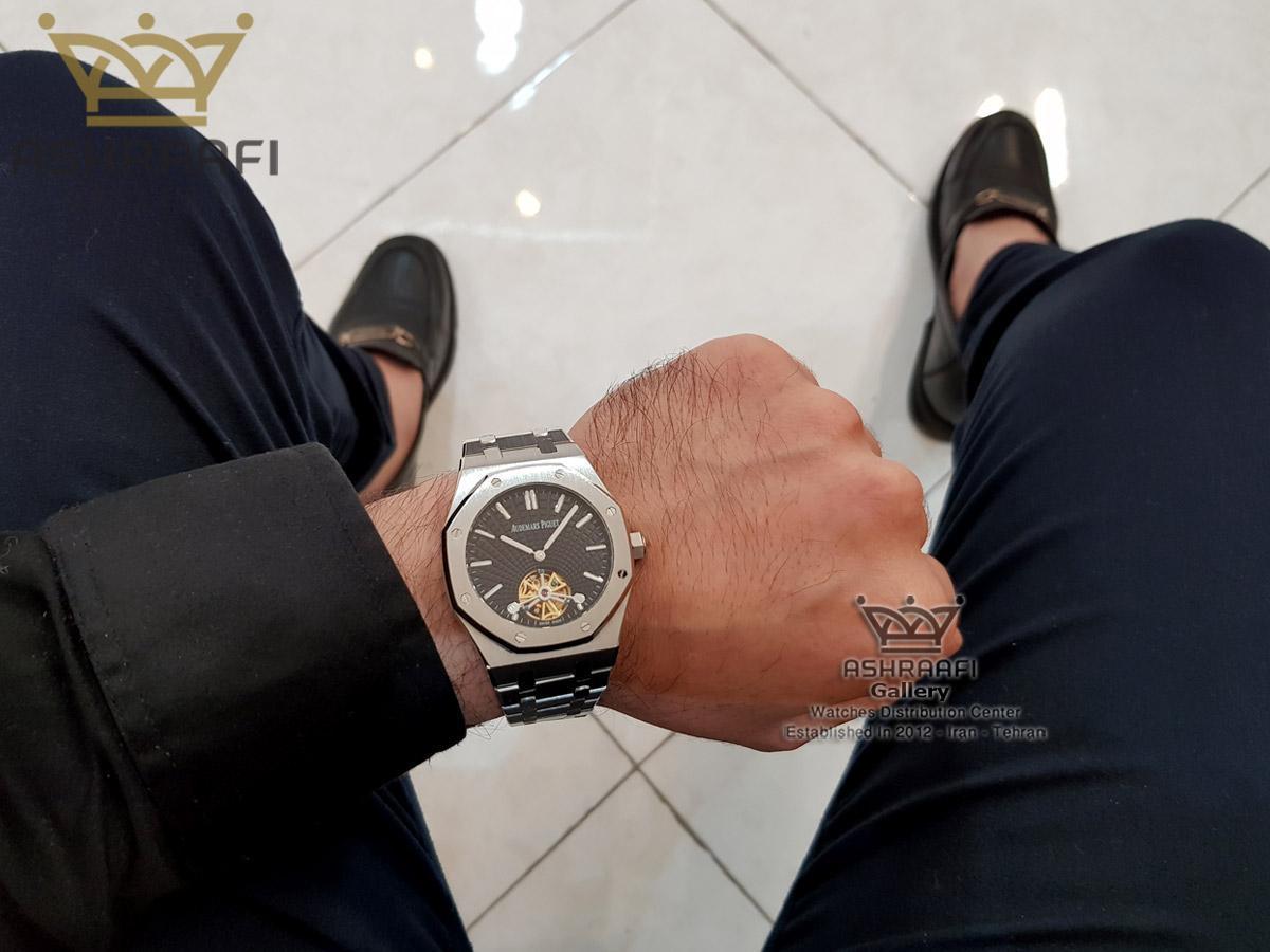 عکس روی دست ساعت Audemars Piguet RO65