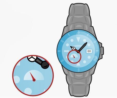ساعت مچی طراحی کارتون اینوگرافی