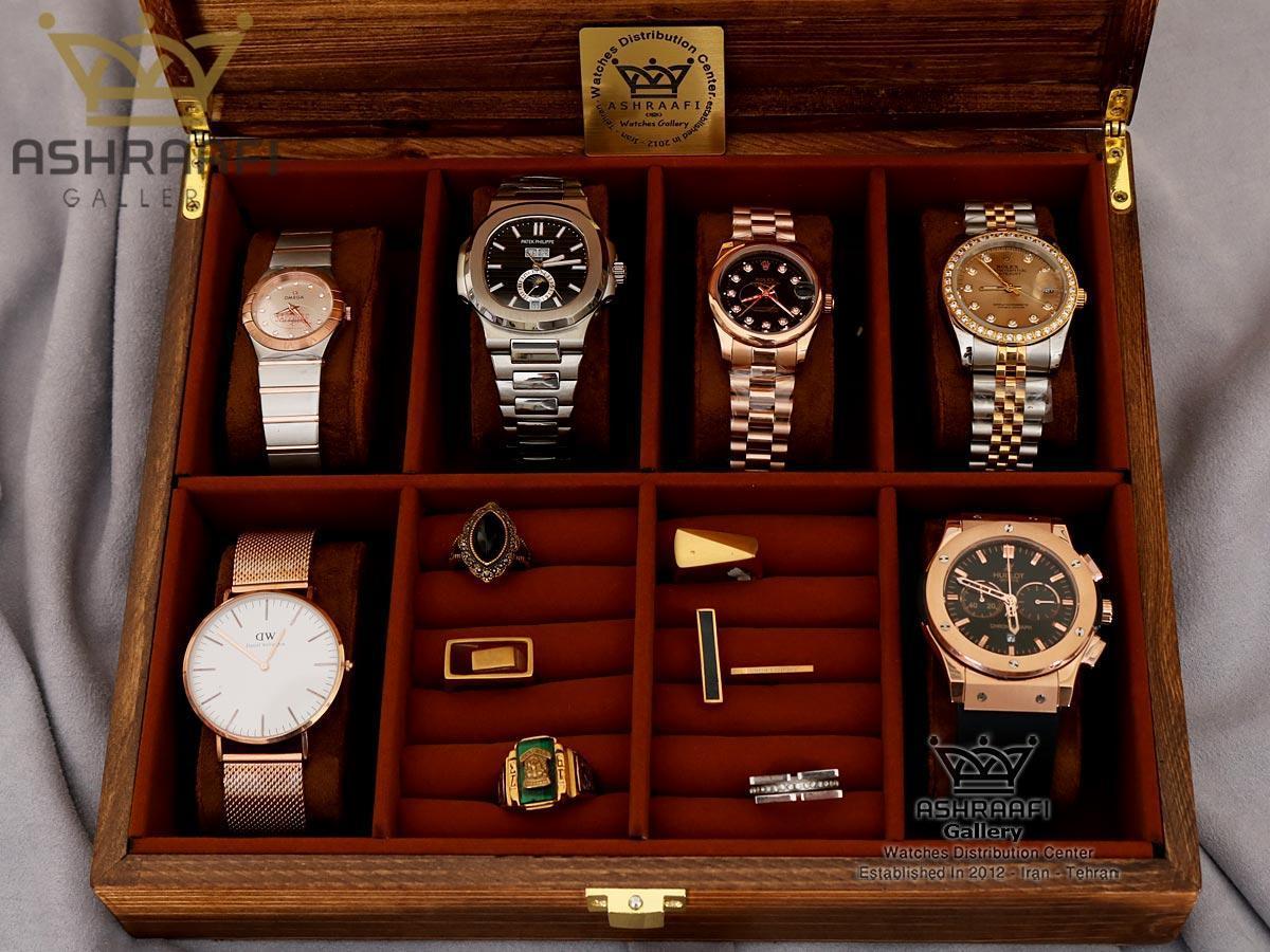 قیمت باکس نگهداری از ساعت 8 عددی Box Watches 8 WB
