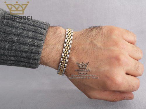 دستبند رولکس روی دست