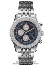 ساعت فلزی صفحه مشکی برایتلینگ Breitling Certifie A13356