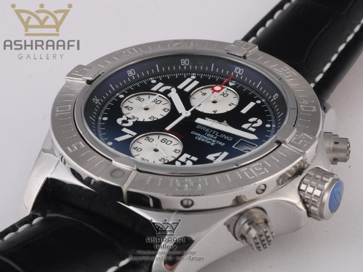 ساعت مشکی رنگ Breitling Certifie A13356L