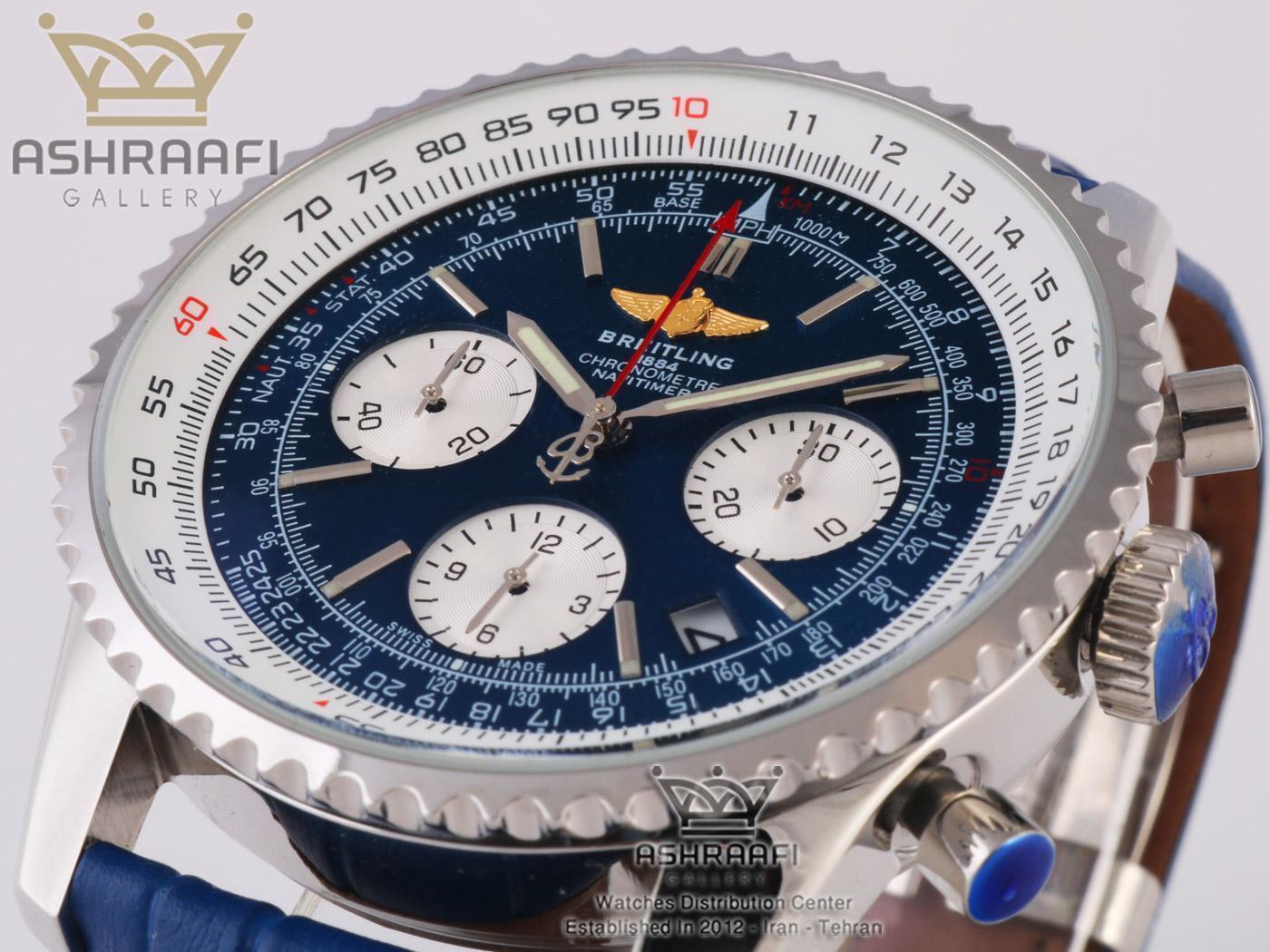 ساعت برایت لینگ صفحه آبی Breitling Navitimer 46M