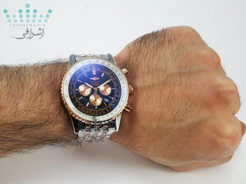 ساعت برایتلینگ فلزی روی مچ Breitling SRG5