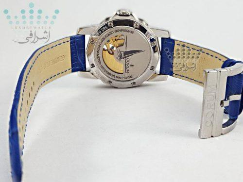 ساعت کروم آبی رنگ CORUM Admiral