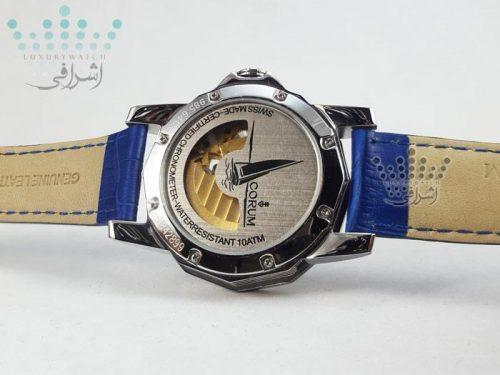 ساعت کروم آبی رنگ CORUM Admiral-05