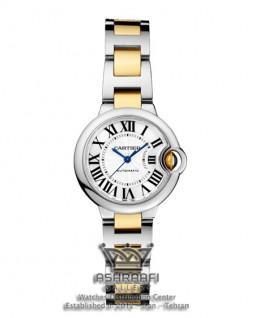 ساعت کارتیه بالان بلو فلزی زنانه Cartier Ballon Bleu F84