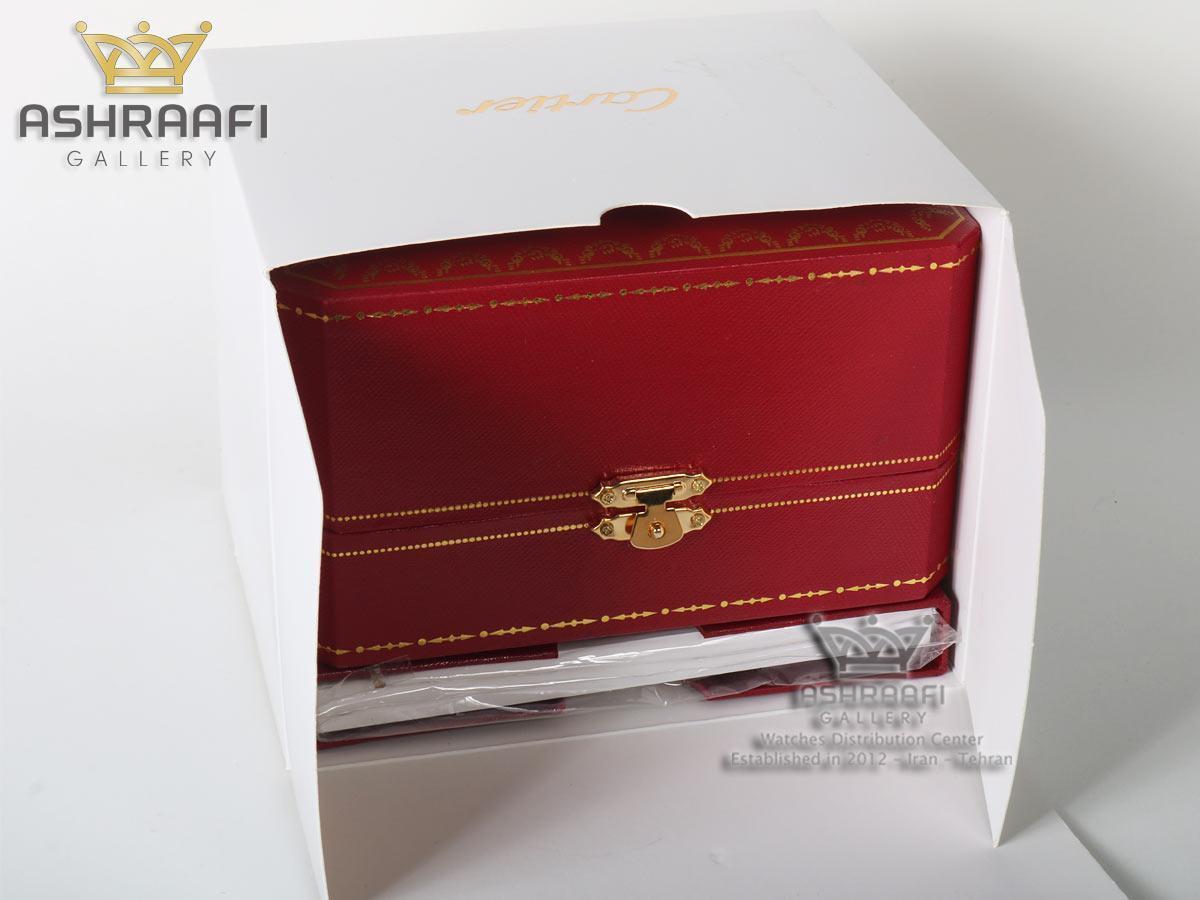 جعبه قرمز ساعت کارتیر