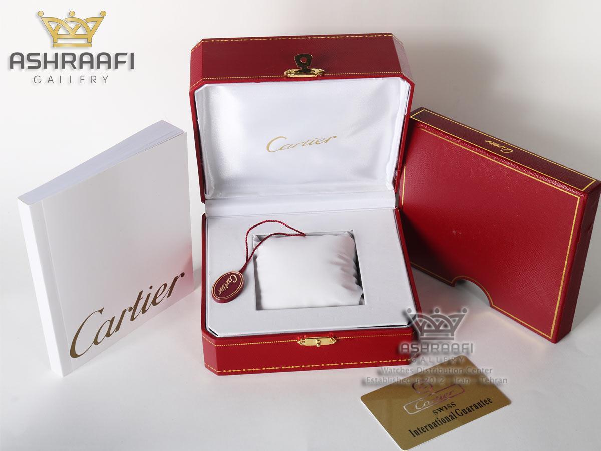 جعبه اصلی ساعت Cartier