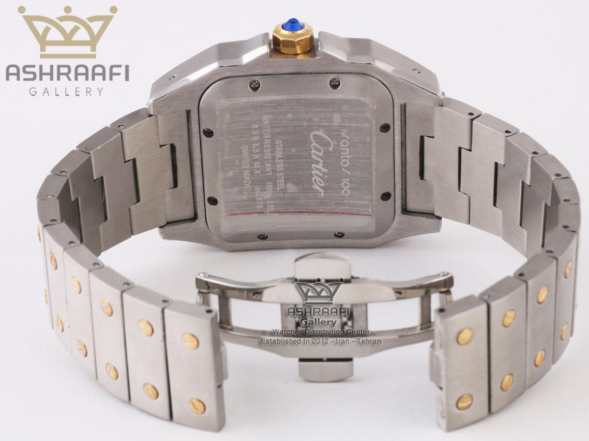 قفل ساعت کارتیه Cartier Santos 100-2CFS