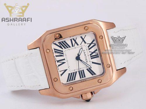 ساعت فیک درجه یک کارتیه Cartier Santos 100-FW
