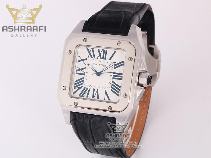 ساعت کارتیه سانتوز Cartier Santos 100-SB