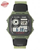 ساعت مچی مردانه کاسیو اورجینال Casio AE-1200WHB-3bvdf