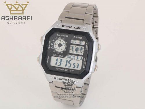 فروش ساعت های کپی کاسیو تمام مشکی Casio AE-1200WHD