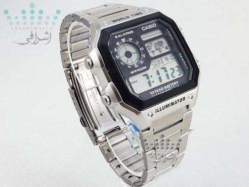 ساعت مستطیل کاسیو AE-1200WHD-1AVDF-02