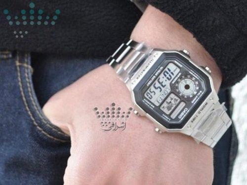 نمای روی دست ساعت کاسیو AE-1200WHD-1AVDF-06