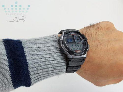 روی دست کاسیو Casio-AE1000W-1BVDF-08