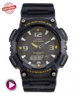 ساعت کاسیو سولار آبی مدل Casio AQ-S810WC-4-04
