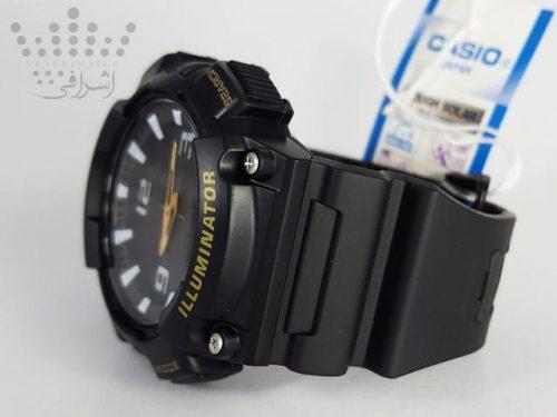 ساعت کاسیو سولار مشکی رنگ مدل Casio AQ-S810WC-4-16