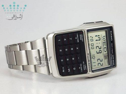 ساعت ماشین حساب دار تمام فلزیCasio DBC-32D-1ADF