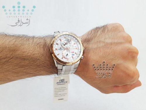 عکس روی دست ساعت کاسیو efr-550d-7avudf