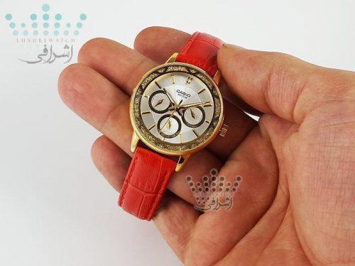 عکس روی دست ساعت زنانه Casio Ltp-2087gl-4avdf