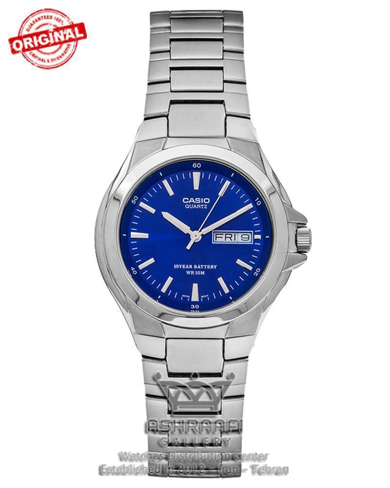 ساعت اورجینال کاسیو صفحه سورمه ایCasio MTP-1228D