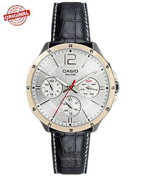 ساعت مردانه اورجینال کاسیو Casio MTP-1374L-7avdf