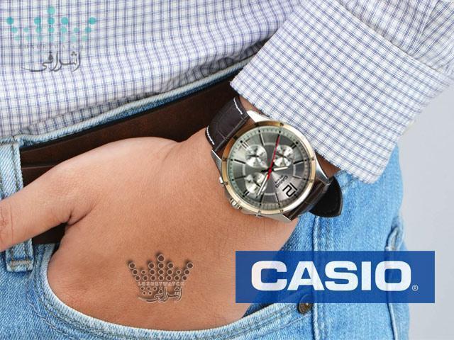 ساعت اورجینال برای هدیه آقایان Casio MPT-1374L-7avdf