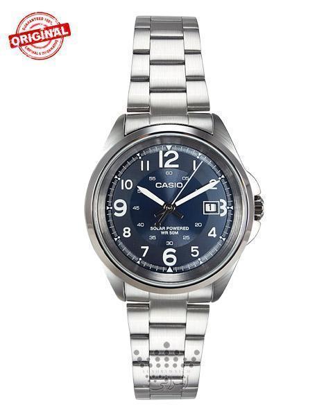ساعت اصلی کاسیو خورشیدی Casio MTP-S101D-2BVDF