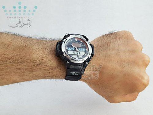 نمای روی دست ساعت کاسیو Casio SGW-400H-1BVDR-06