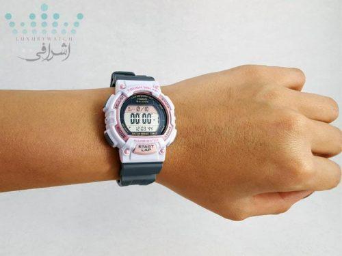 عکس روی دست ساعت زنانه کاسیو STL-S300H-4ADF