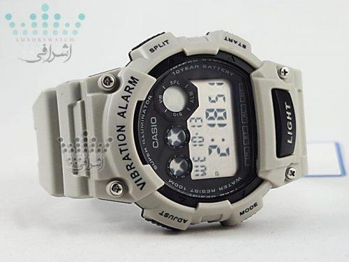 ساعت ویبره دار کاسیو مدل-W-735H-8A2VDF-03