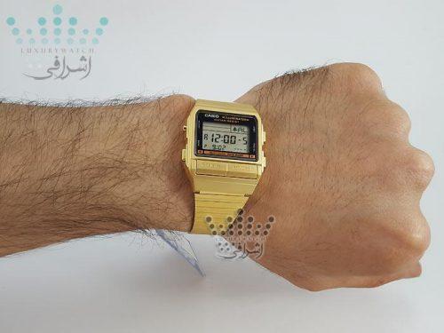 عکس روی دست ساعت اورجینال Casio db-380g-1df