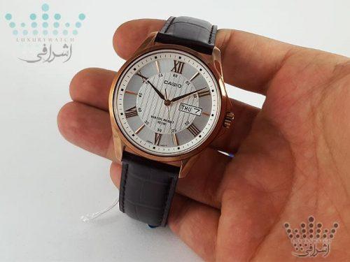 نمای روی دست ساعت casio-mtp-1384l-7avdf