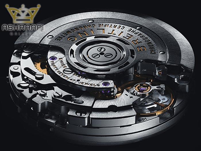 Chronomat Caliber B01 500 - 10 موتور ساعت مکانیکی زمانسنج برتر