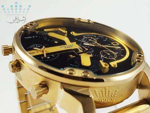 ساعت بزرگ تمام طلایی DIESEL DZ-7333