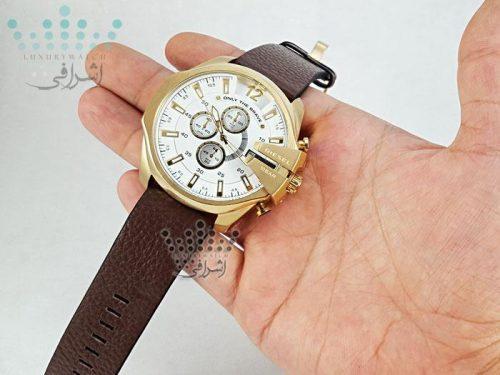 نمای روی دست ساعت دیزل مدل dz-4344g-02