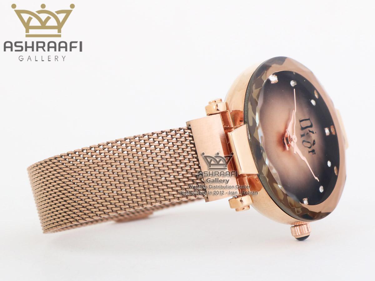 ساعت دیور زنانه بند حصیری Dior R2
