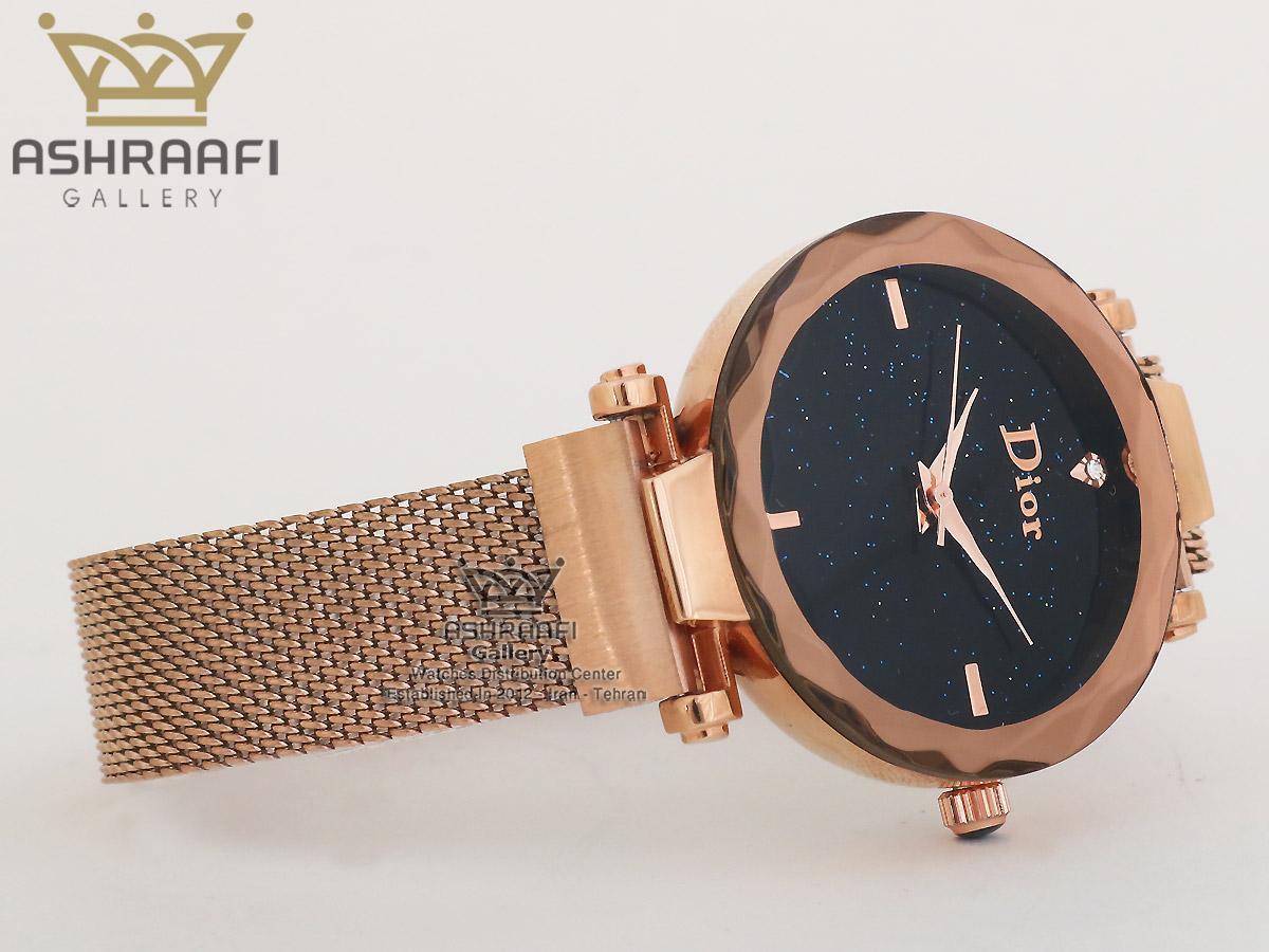 ساعت دیور بند حصیری زنانه Dior R2