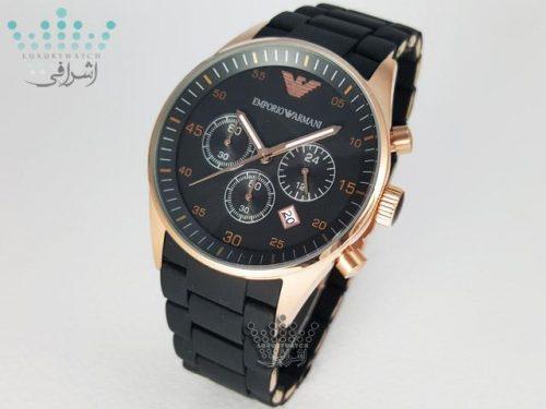 ساعت امپریو آرمانی مشکی EMPORIO ARMANI AR-5905