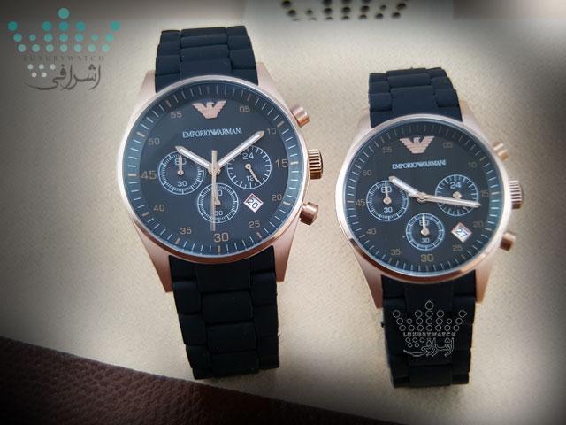 EMPORIO ARMANI AR 5905 07 روش صحیح خرید ساعت های کپی یا اورجینال