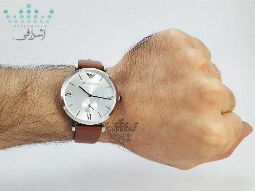تصویر روی مچ ساعت EMPORIO ARMANI ar-1674L