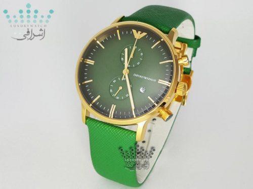 ساعت مردانه سبز رنگ Emporio Armani AR-0386