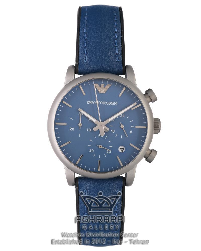 ساعت آبی رنگ اسپرتEmporio Armani Ar1895